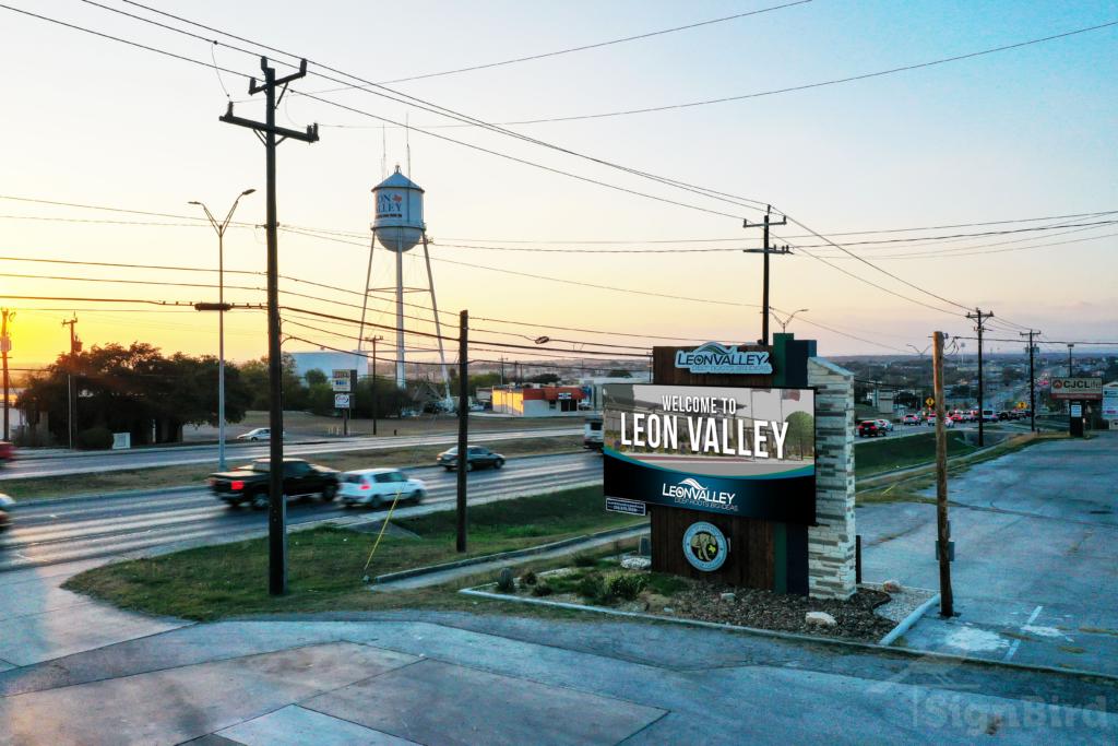 Leon Valley Sign